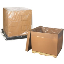 Pallet Covers - Clear - 2 Mil