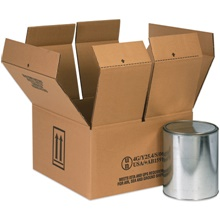 Haz Mat Paint Can Shipping Boxes